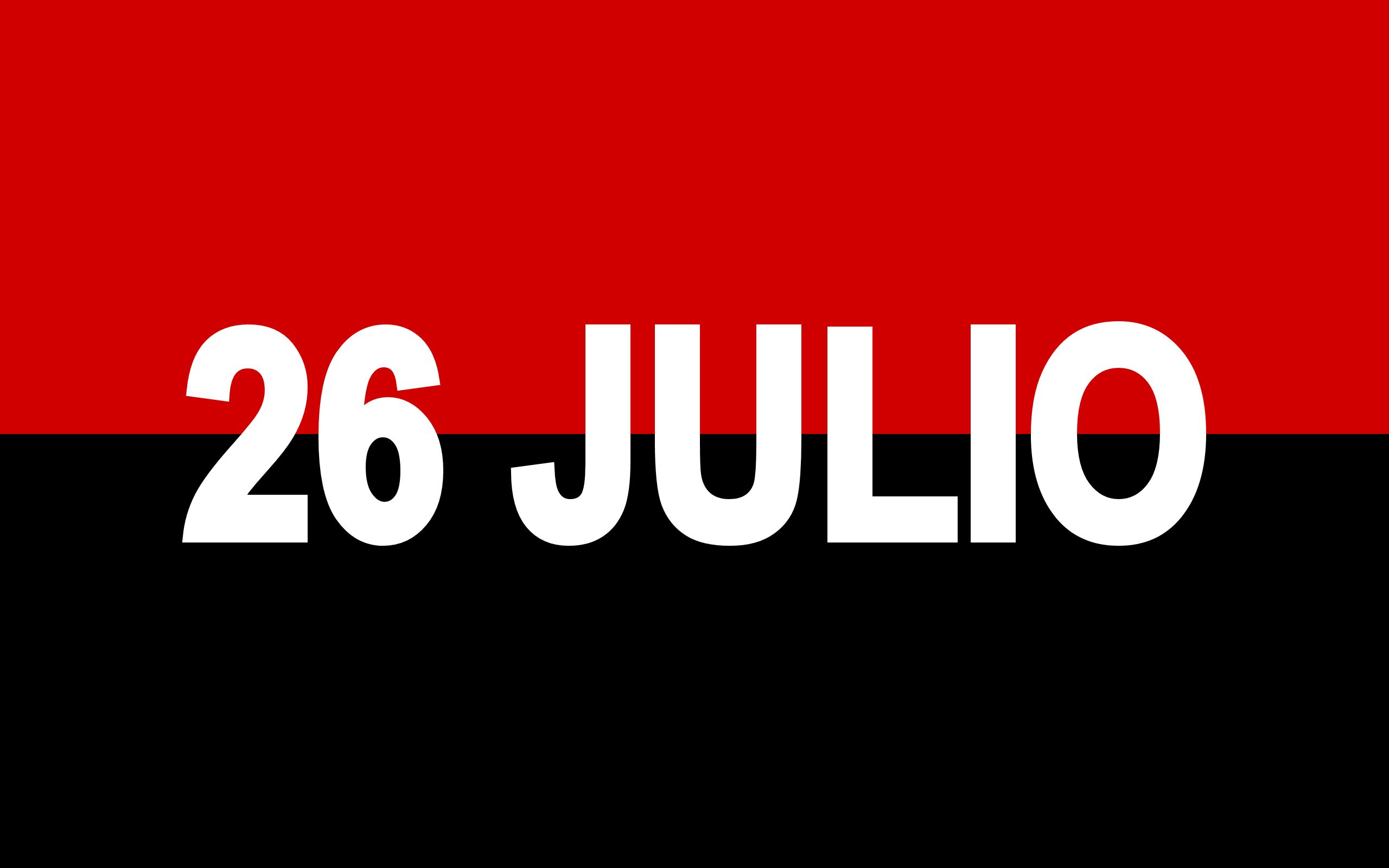 Flagge des 26 Julio