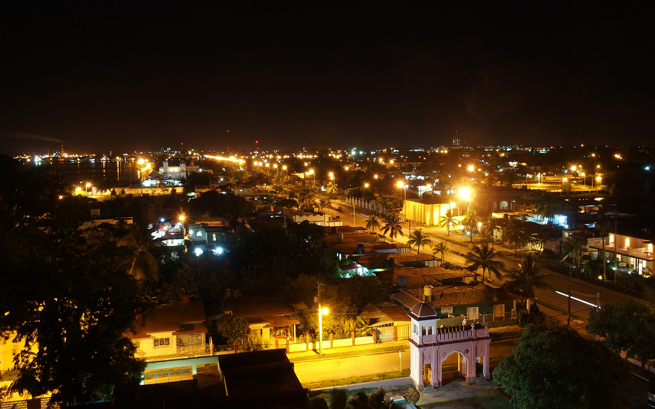 Cienfuegos bei Nacht