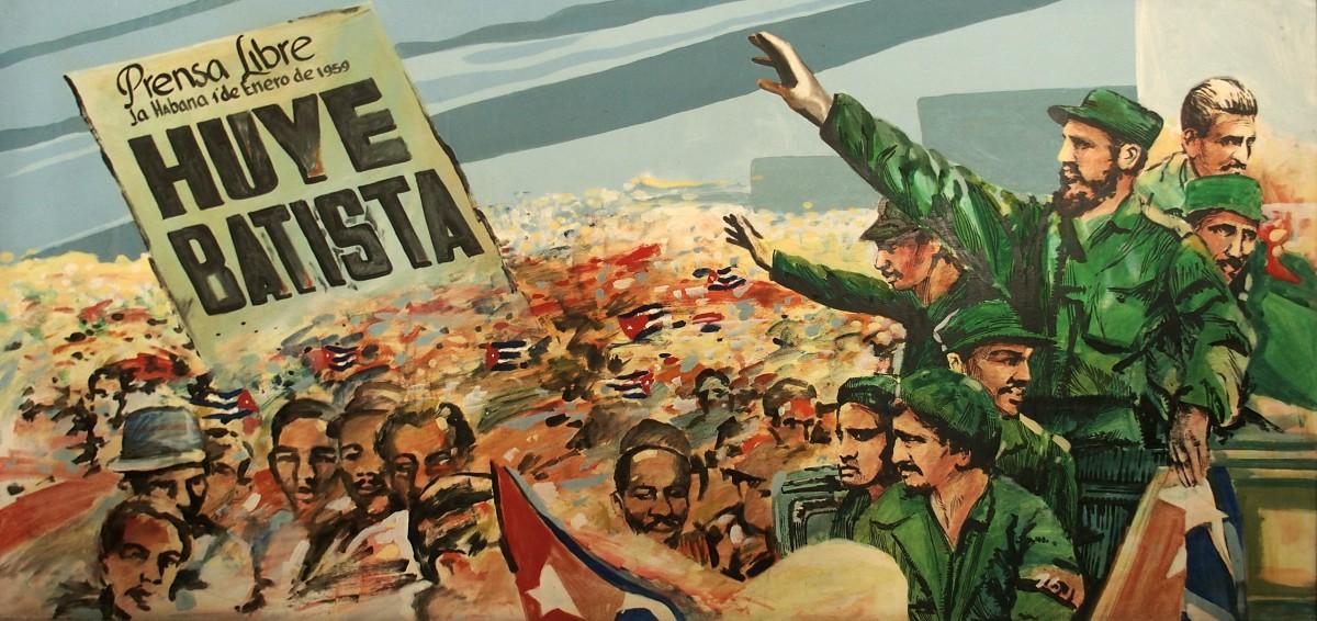 Gemälde anlässlich der Revolution am 1. Januar 1959