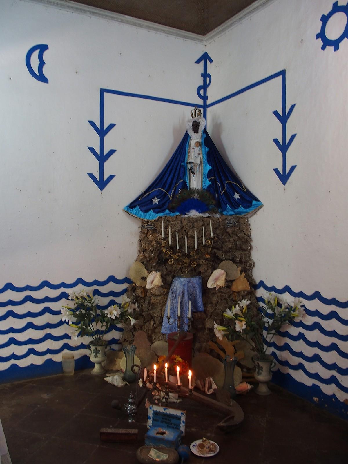 Altar zur Ehren der Jungfrau von Regla
