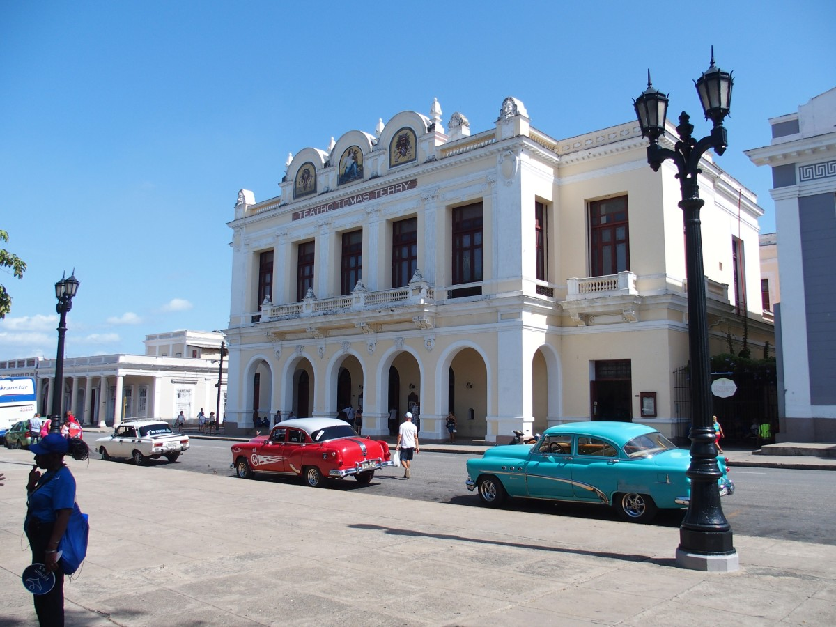 Teatro Tomás Terry außen