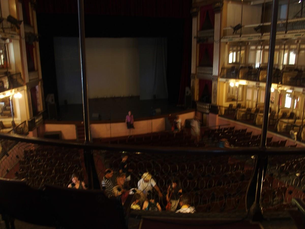 Teatro Tomás Terry innen