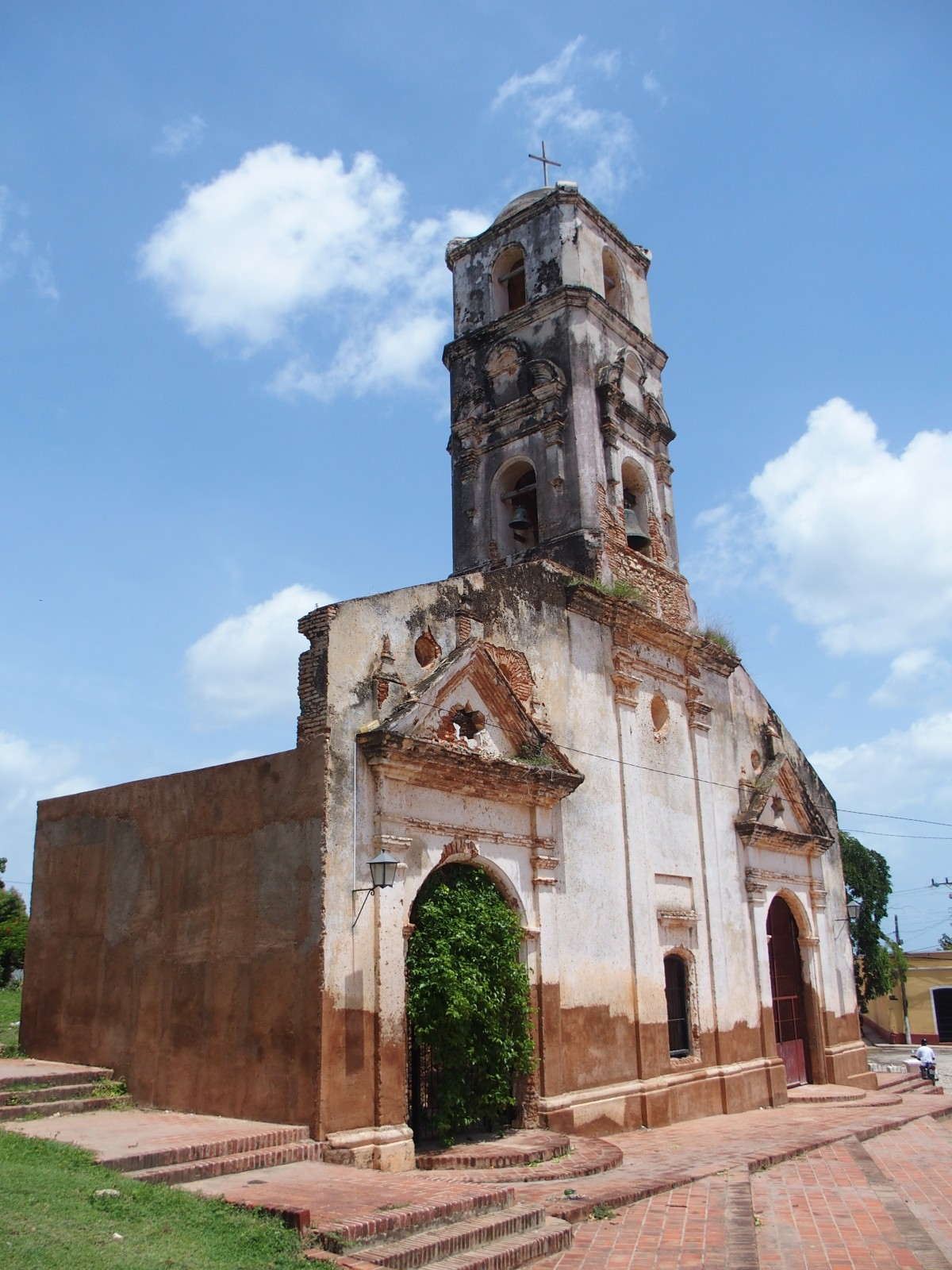 Zerfallene Kirche von Trinidad