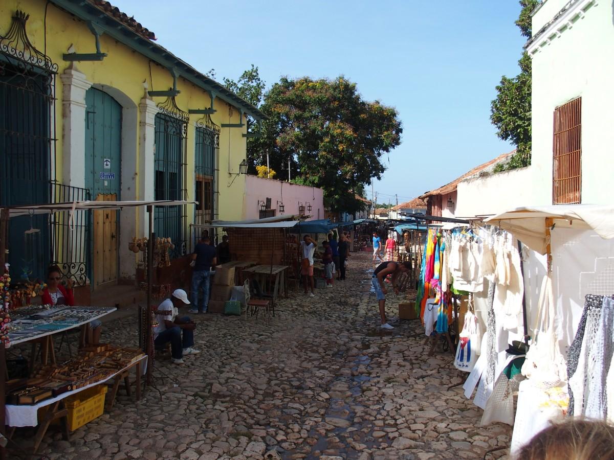 Markt in Trinidad